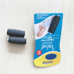 2pcs pack black Foot Smoother Replacement Rollers