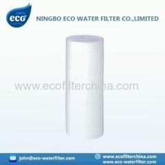 spun polypropylene filter cartridge