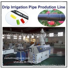Emitting pipe making machine factory supplier