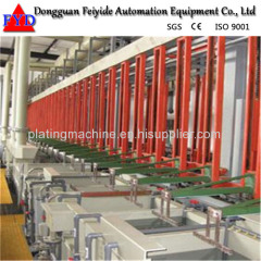 Feiyide Automatic Galvanizing Rack Plating Production Line for Fastener