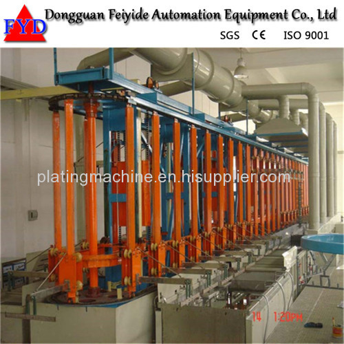 Feiyide Automatic Galvanizing Rack Plating Production Line for Hanges