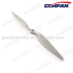 rc airplane 1365 glass fiber nylon electric gray propeller