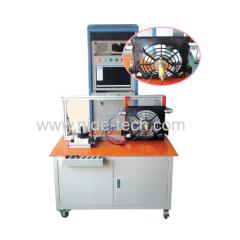 Automobile motor wiper motor motor stator integrated testing panel