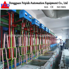 Feiyide Automatic Rack Electroplating / Plating Machine for Precision Electronics
