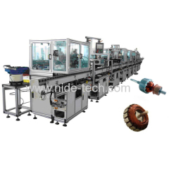 FULLY AUTOMATIC BELT TYPE OIL PUMP MOTOR COOLER MOTOR HOME APPLIANCE MOTOR ARMATURE PRODUCTION LINE
