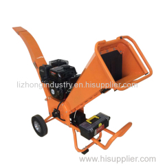 6.5Hp 60mm chipping capacity wood chipper used