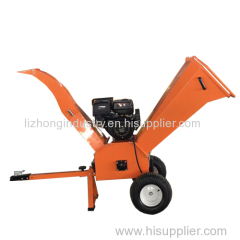 15hp 100mm max chipping honda engine wood chipper for garden tractor