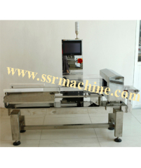 Metal Detector Checkweigher machine