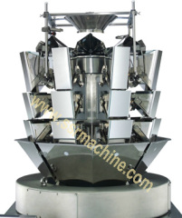 3-Layer 8 Heads scale speed weighing packing machine
