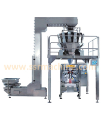 Automatic Potato Chips packing machine with 14 head weigher