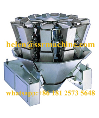 10 head Food weighing Hopper scale Automatic Dump Filling machine