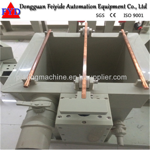 Manual Rack Rotating Plating Line