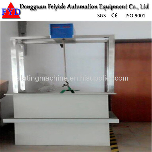 Feiyide Manual ABS Chrome Rack Electroplating / Plating Production Line