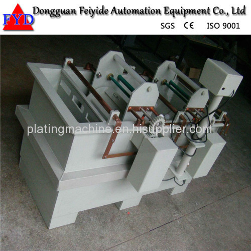 Feiyide Manual Galvanizing Barrel Plating Production Line for Screw / Nuts / bolts