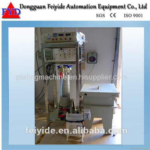 Feiyide Manual Galvanizing Barrel Plating Production Line for Fastener / Button
