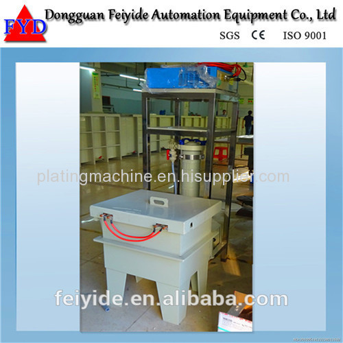Feiyide Manual Nickel Barrel Electroplating / Plating Equipment for Fastener / Button