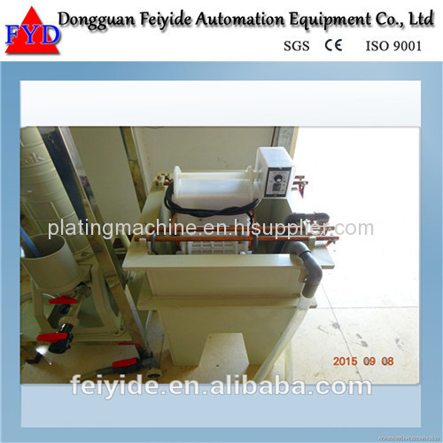 Feiyide Manual Nickel Barrel Electroplating / Plating Machine for Screw / Nuts / bolts