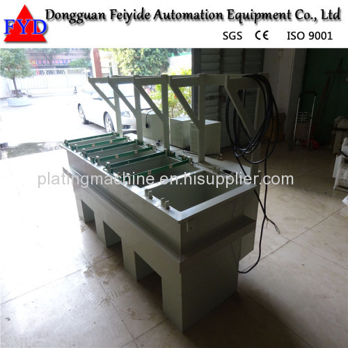 Feiyide Manual Copper Barrel Electroplating / Plating Equipment for Fastener / Button