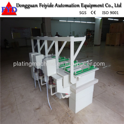 Feiyide Manual Copper Barrel Electroplating / Plating Production Line for Nails