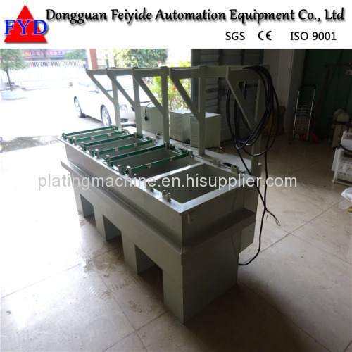 Feiyide Manual Copper Barrel Electroplating / Plating Production Line for Metal Parts