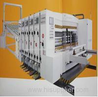 ZYK Series High-speed printing slotting Die-cutter
