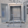 Electrostatic Powder Curing Oven for Sale with Racks