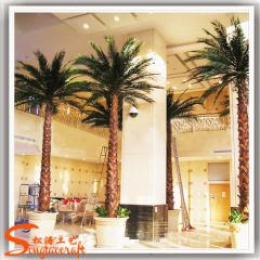 High simulation Artificial Green Leaves Mall decor Artificial Palm Trees