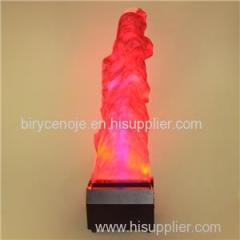 INDOOR AND OUTDOOR SQUARE FAKE FIRE LED BIG SILK FLAME LIGHT