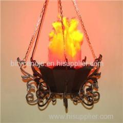 HOME AND PARTY DECORATION EUROPEAN ANTIQUE FLOWER STAND HANGING FLAME LIGHT