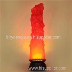 300W OCTAGON FLOOR STANDING BIG SILK FLAME EFFECT LIGHT