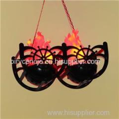 20W LED FAKE FIRE SILK HANGING FLAME