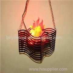 10W RIPPLE DECORATION FAKE FIRE LED SILK FLAME LIGHT