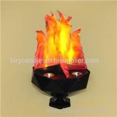 HIGHT QUALITY HOME DECORATION LED SILK FLAME LIGHT