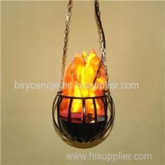 20CM Melon Decoration Hanging Silk Flame Effect Light
