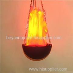 30CM Silk Effect Hanging Flame Light