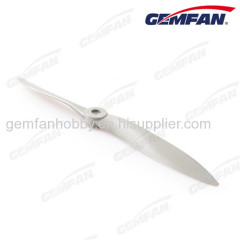 airplane spare parts 1280 Glass Fiber Nylon Glow aircraft Props with 2 blade