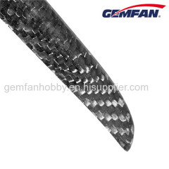 1260 Carbon Fiber Folding Model plane Propeller for Fixed Wings Hot Drone