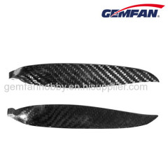 14x8 1480 2 folding blades ccw carbon fiber propeller props for airplane model toy