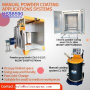 Promotion:Manual powder coating plant package