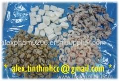 Frozen Cat Tiger PUD / Black Tiger Shrimp Vanamer / Frozen Raw Seafood Mix