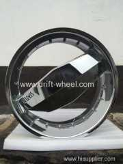 24 INCH STATUS WHEEL RIM CHROME FINISH DEEP DISH GOOD OPTION FOR LOWRIDER