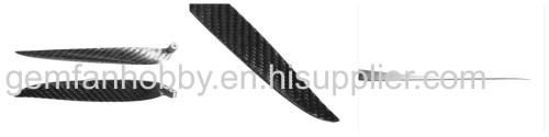 16x13 inch Carbon Fiber Folding Propeller