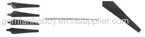 1555 Carbon Fiber Folding Propeller