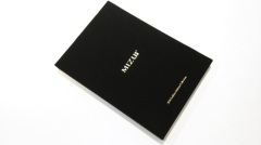 Gilt edged linen hardcover photo book