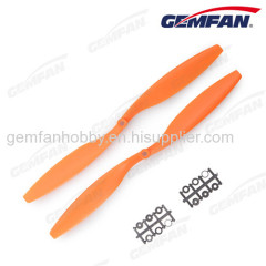 12x4.5 12 inch 2 blades cw aeroplane props with abs type