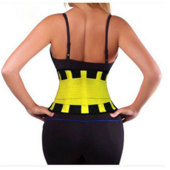 ladies waist training corset Elastic slimming belt for waist shaper