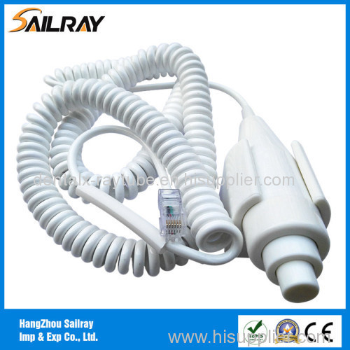 3cores 2.2m Two Step X-ray Push Button Switch with RJ45 Connector