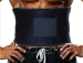 Body fitness shape adjustable neoprene waist sweat belt