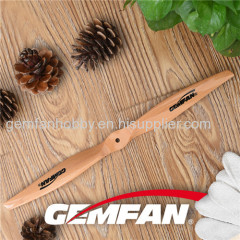 14x6 inch 2 blades Electric Wooden rc airplane Propellers for sale