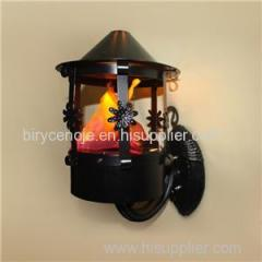 8W WALL MOUNTED DECORATIVE LED ARTIFICIAL SILK FLAME LIGHT
